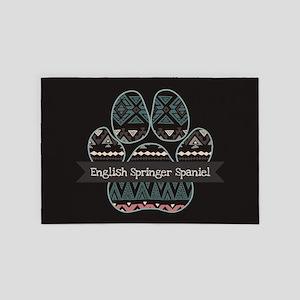 English Springer Spaniel 4' x 6' Rug