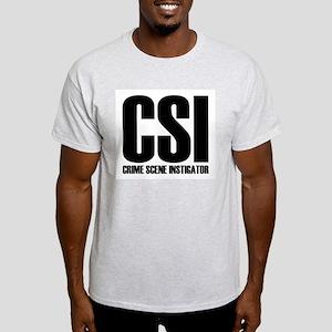 CSI - crime scene INSTIGATOR Light T-Shirt