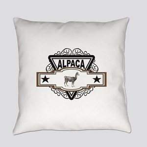logo with the Alpaca Everyday Pillow