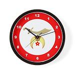 Masonic Shriners Wall Clock