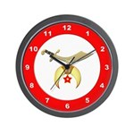 Masonic Shriners Wall Clock