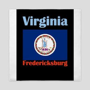 Fredericksburg Virginia Queen Duvet