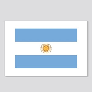 ARGENTINA Flag of Argentina Postcards (Package of