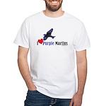 I Love Martins White T-Shirt