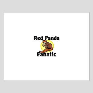 Red Panda Fanatic Small Poster