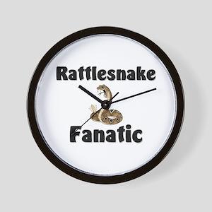 Rattlesnake Fanatic Wall Clock