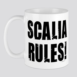 Scalia Rules Mug