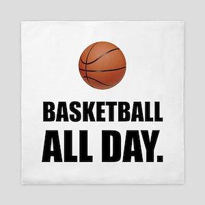 Basketball All Day Queen Duvet