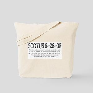 SCOTUS 6-26-08 Tote Bag