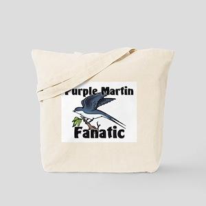 Purple Martin Fanatic Tote Bag