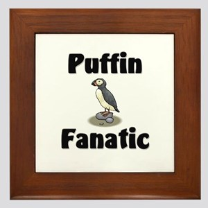 Puffin Fanatic Framed Tile