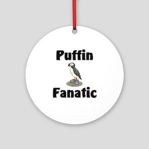 Puffin Fanatic Ornament (Round)
