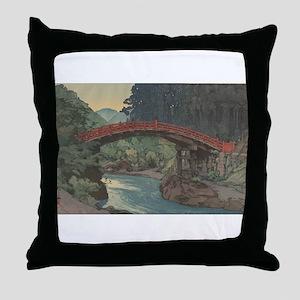 Bridge Art Masterpiece Throw Pillow