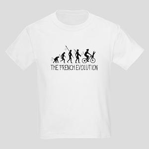 Funny anti French Kids Light T-Shirt