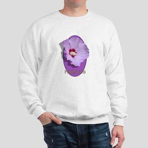 Hibiscus (front only) Sweatshirt