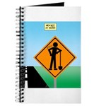 Men Not at Work Sign Journal