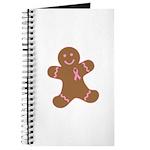 Pink Ribbon Gingerbread Man S Journal