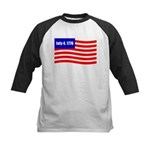 July 4 1776 Kids Baseball Jersey
