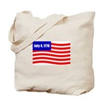 July 4 1776 Tote Bag