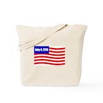 July 4 1776 Tote Bag