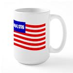July 4 1776 Large Mug