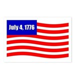 July 4 1776 Postcards (Package of 8)