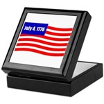July 4 1776 Keepsake Box