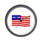 July 4 1776 Wall Clock