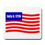 July 4 1776 Mousepad