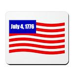 July 4 1776 Mousepad