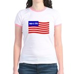 July 4 1776 Jr. Ringer T-Shirt