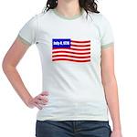 July 4 1776 Jr. Ringer T-Shirt