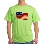 July 4 1776 Green T-Shirt