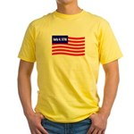 July 4 1776 Yellow T-Shirt