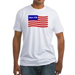 July 4 1776 Fitted T-Shirt