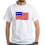 July 4 1776 White T-Shirt