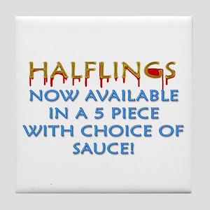 Halflings - 5 Piece Tile Coaster