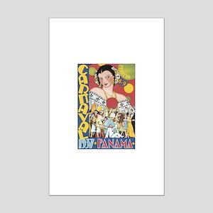 1937 Carnaval Panama Mini Poster Print