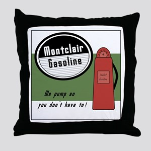 Mtc Gas Throw Pillow