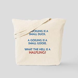 Halfling Lings Tote Bag