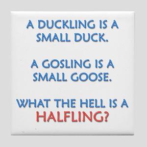 Halfling Lings Tile Coaster