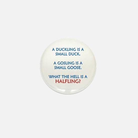 Halfling Lings Mini Button
