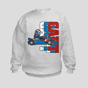 Ultimate Go Cart Kids Sweatshirt