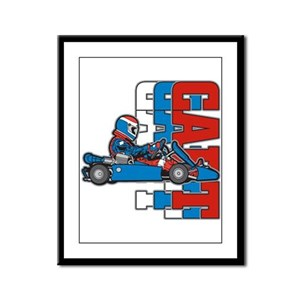 Ultimate Go Cart Framed Panel Print