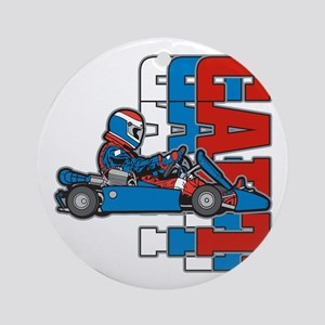 Ultimate Go Cart Ornament (Round)