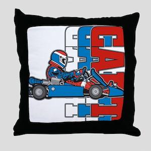 Ultimate Go Cart Throw Pillow