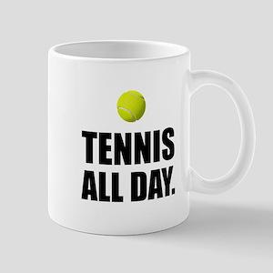 Tennis All Day Mugs