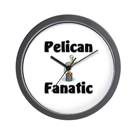 Pelican Fanatic Wall Clock