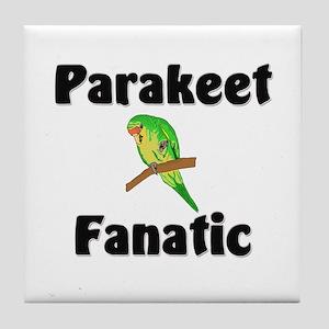 Parakeet Fanatic Tile Coaster