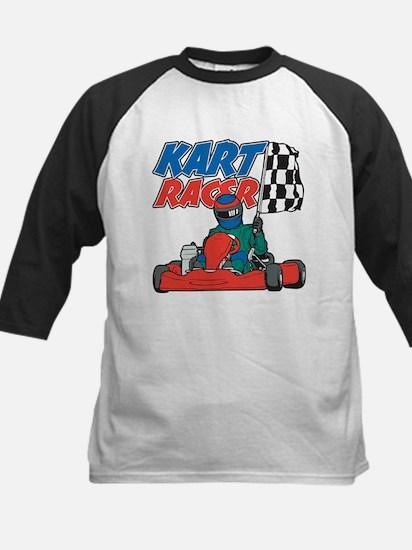 Kart Racer Kids Baseball Jersey